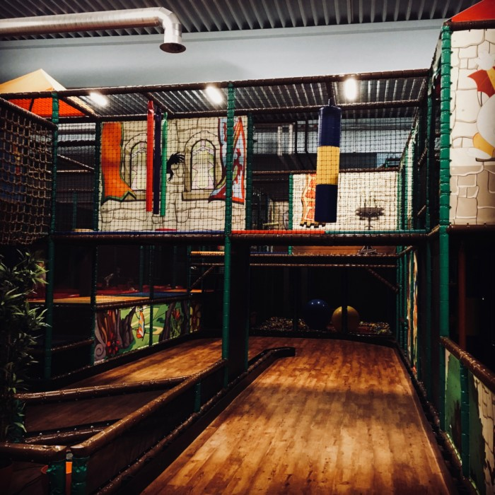 Der Indoor-Spielplatz in Landau