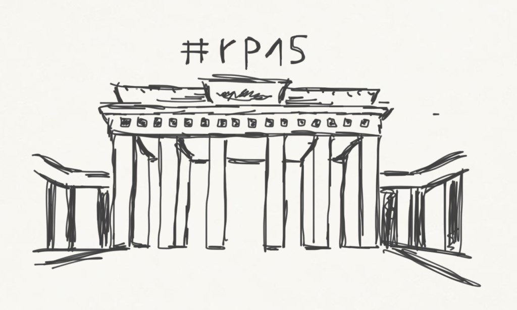 Skizze: Hallo Berlin #rp15