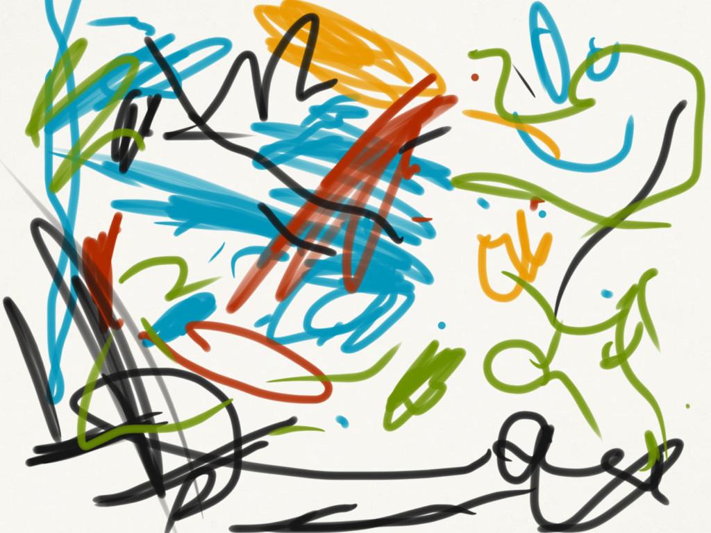 Skizze: Echte Kunst