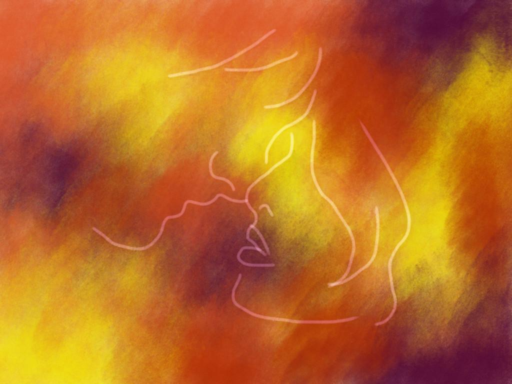 Skizze: Psychedelischer Liebesscheiß