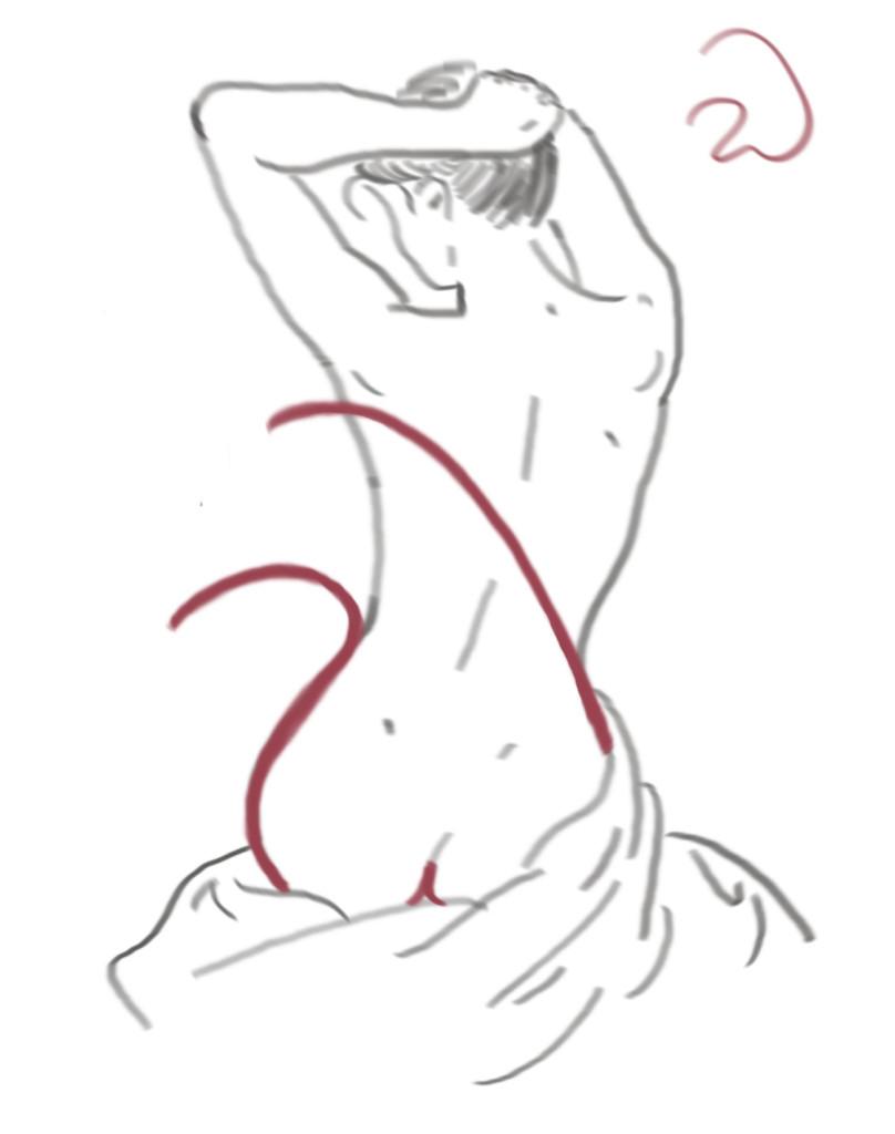 Skizze: Sexy W