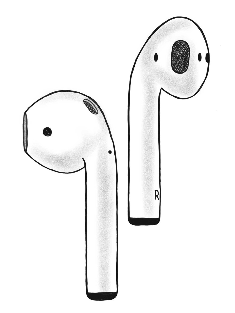 Illustration: Hello AirPods