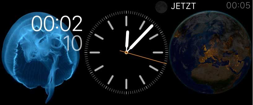 Screenshot: Watchfaces