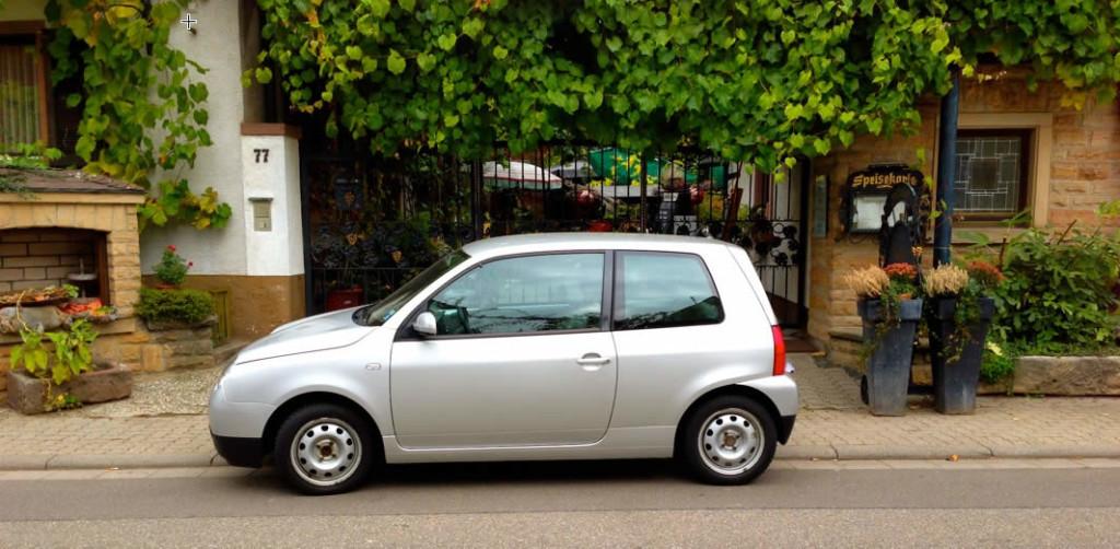 Bild: Ein Auto (genauer: VW Lupo 3L TDI)