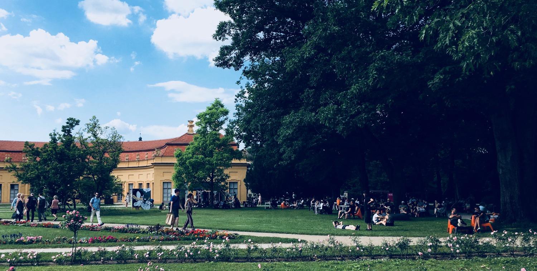Comic Salon Erlangen 2018: Schlosspark