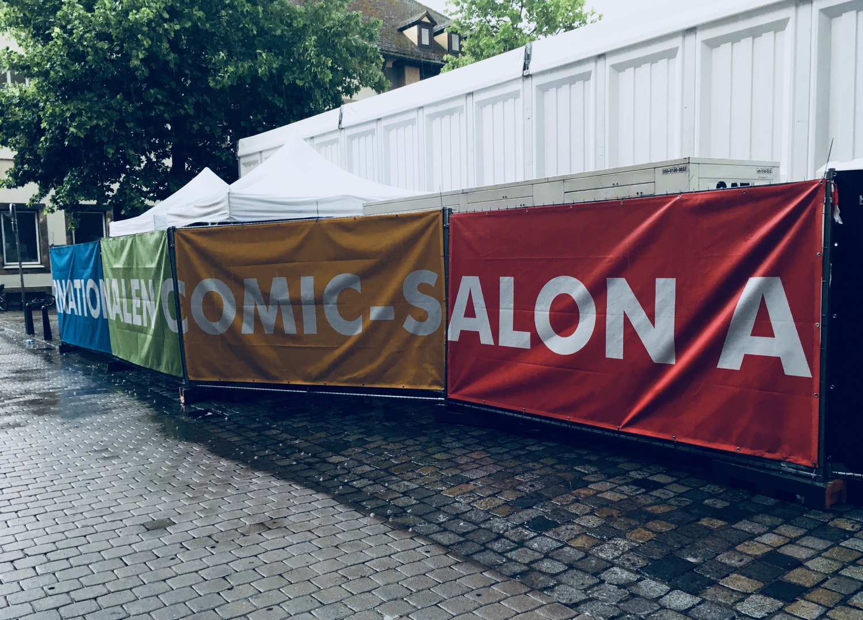 Comic Salon Erlangen 2018: Halle A (von hinten)