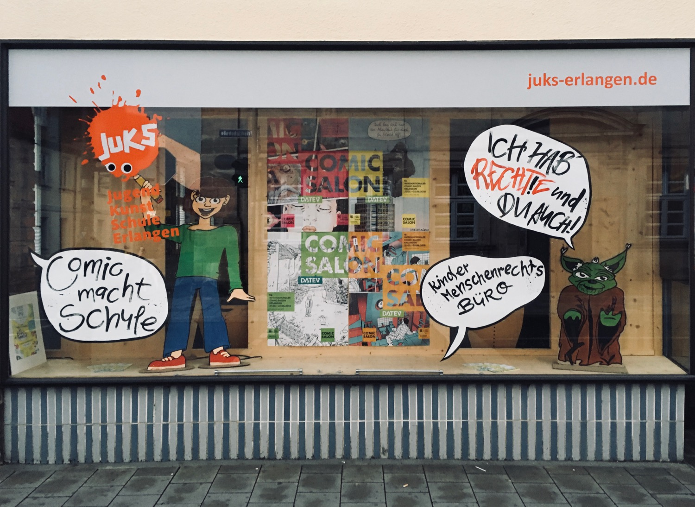 Comic Salon Erlangen 2018: Comic macht Schule