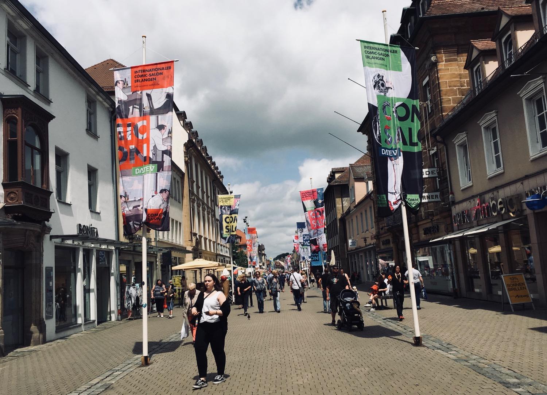 Comic Salon Erlangen 2018: Innenstadt Erlangen