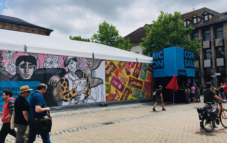 Comic Salon Erlangen 2018: Kasse