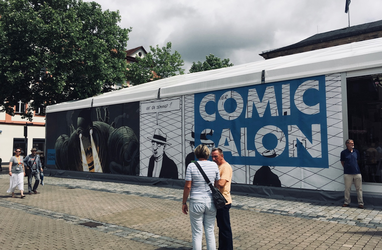 Comic Salon Erlangen 2018: Halle A