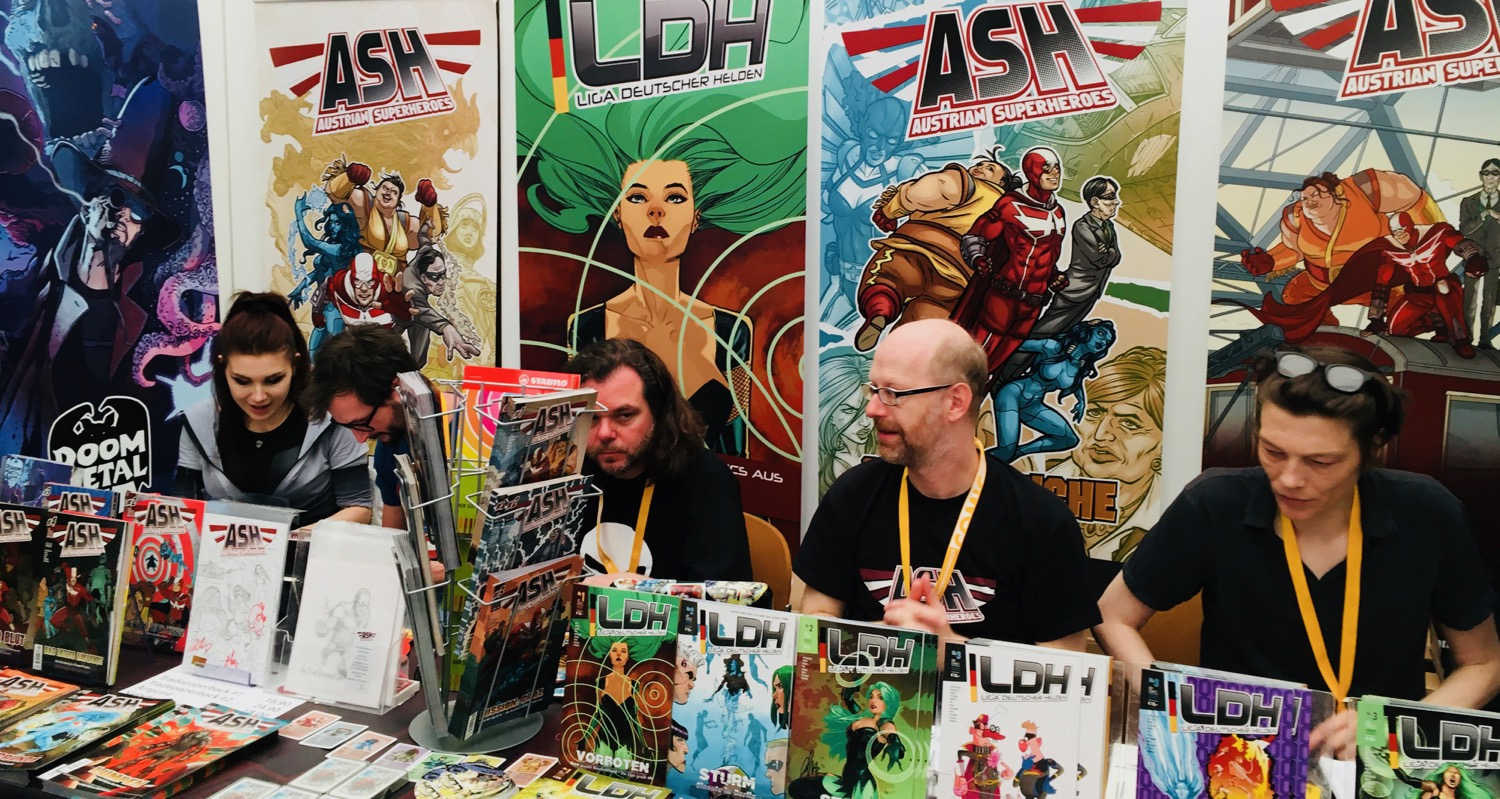 Comic Salon Erlangen 2018: Lokale Superhelden
