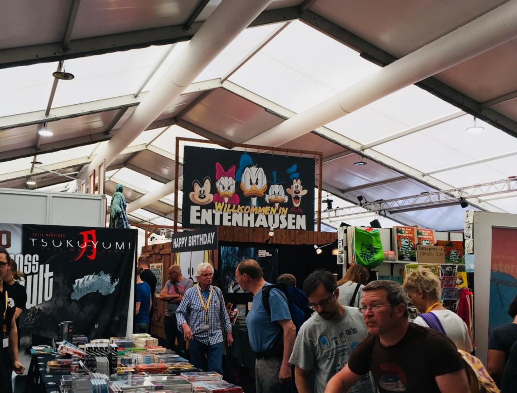 Comic Salon Erlangen 2018: Willkommen in Entenhausen