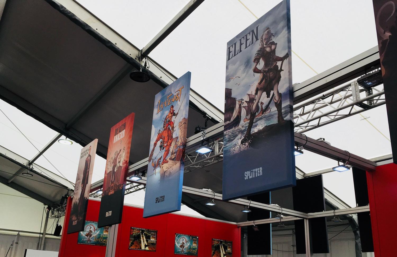Comic Salon Erlangen 2018: Splitter Verlag