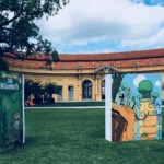 Comic Salon Erlangen 2018: Micky Maus Ausstellung vor der Orangerie