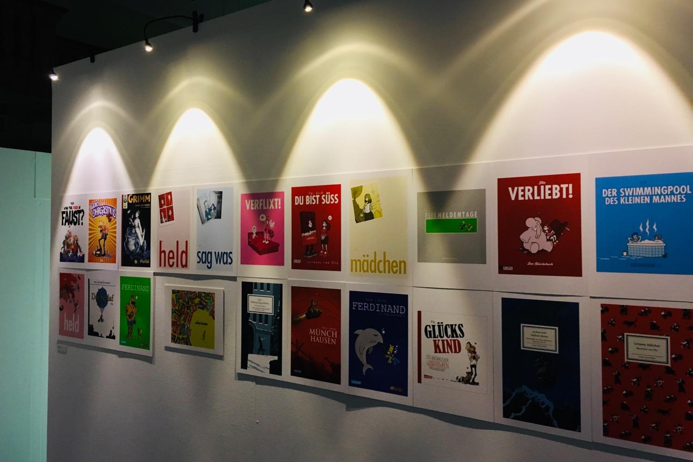 Comic Salon Erlangen 2018: Flix Ausstellung im Redoutensaal