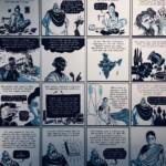Comic Salon Erlangen 2018: Exponat @ Ausstellung Zeich(n)en der Zeit