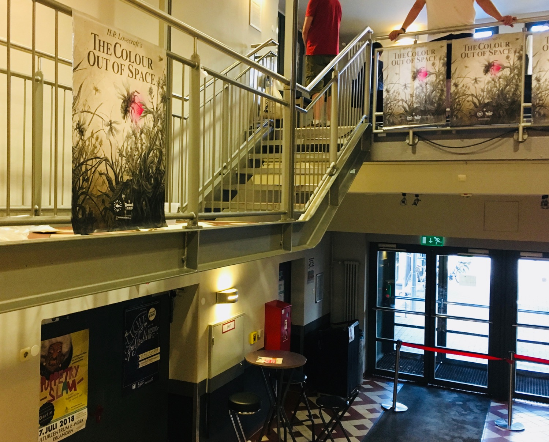 Comic Salon Erlangen 2018: The Colour out of Space (Eingangsbereich im E-Werk)
