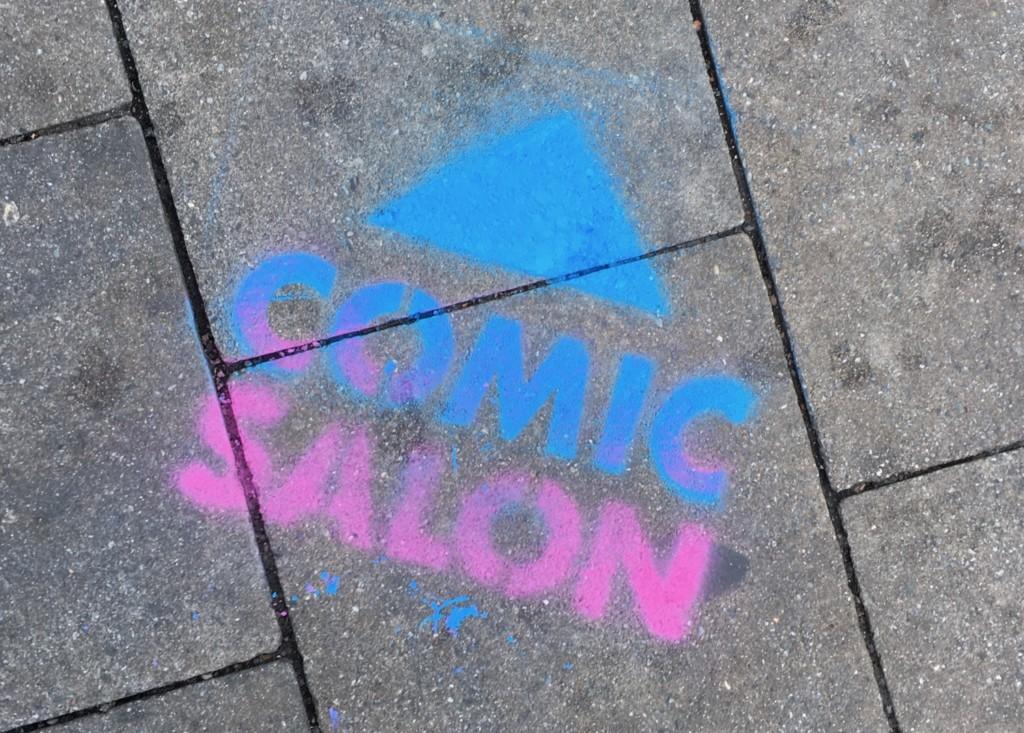 Comic Salon Erlangen 2018: Wo bitte geht's denn hier zum Comic Salon?