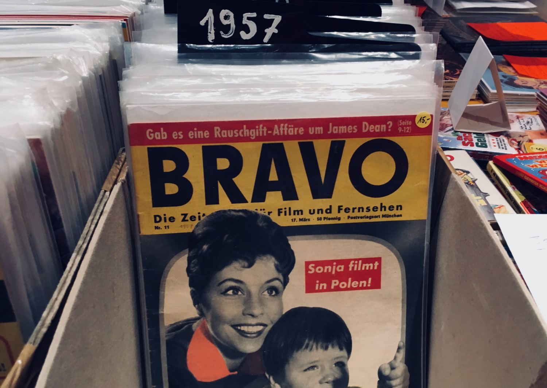 Comic Salon Erlangen 2018: Bravo von 1957 (Comic Börse)