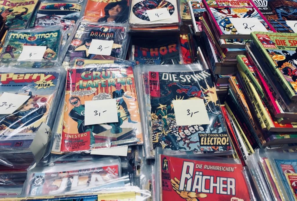 Comic Salon Erlangen 2018: Sammlerstücke @ Comic Börse