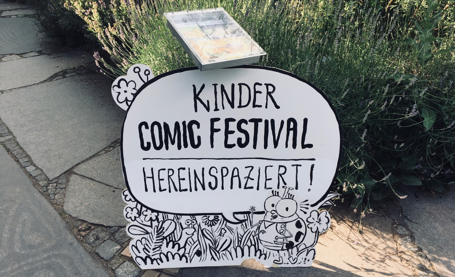 Comic Salon Erlangen 2018: Hereinspaziert! (Kinder Comic Festival)