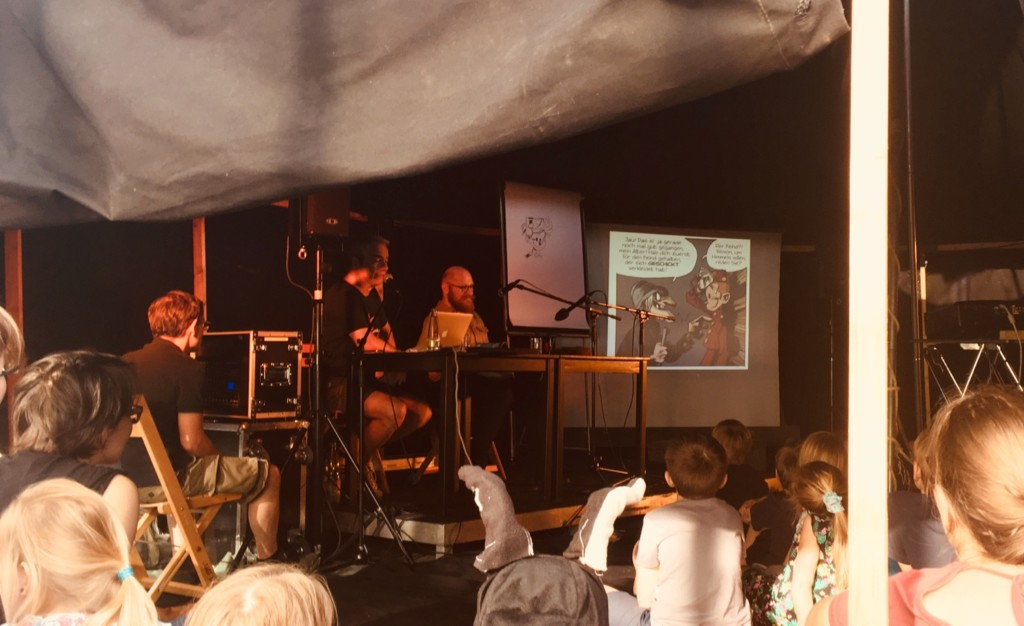 Comic Salon Erlangen 2018: Comic Lesung Spirou & Fantasio (im Zirkuszelt)