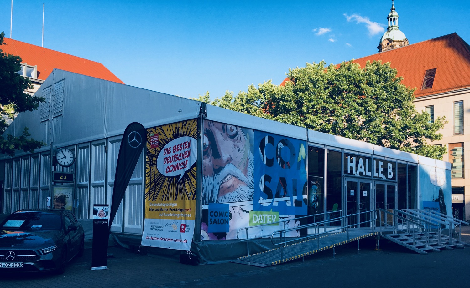 Comic Salon Erlangen 2018: Halle B