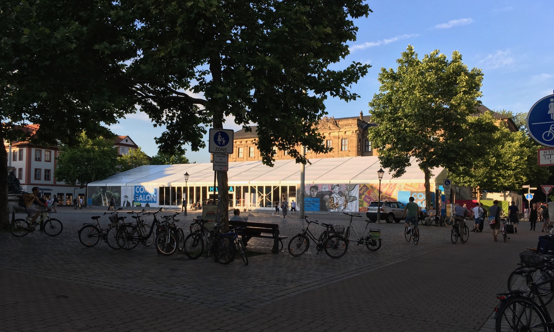Comic Salon Erlangen 2018: Das Zentrum des Salons (Halle A)