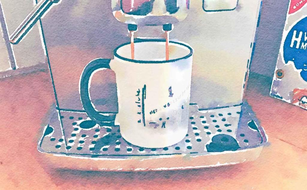 Bild: Kaffee brühen