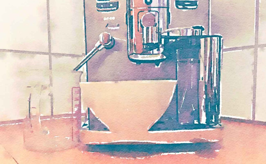 Bild: Entkalkung Kaffeevollautomat