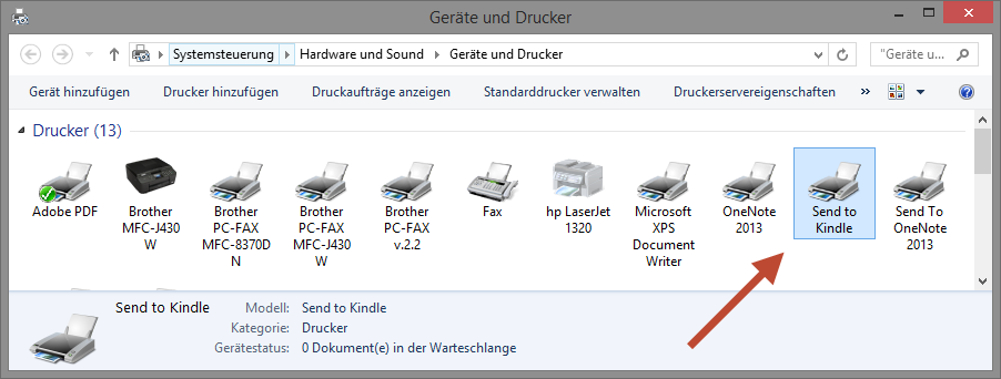 kindle-drucker