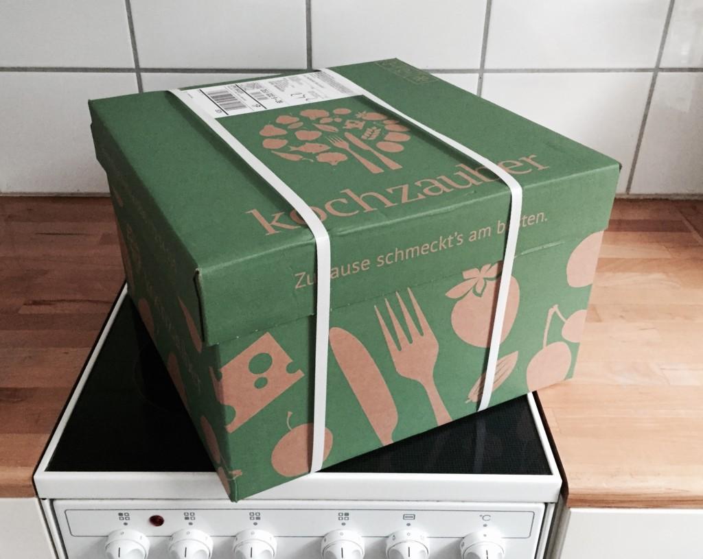 Kochzauber Lebensmittel Box