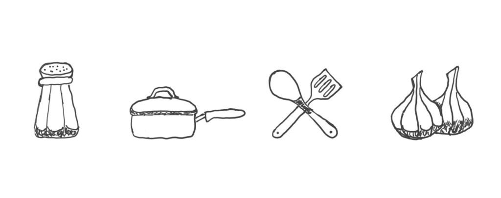Skizze: Kochen (Symbolisch)