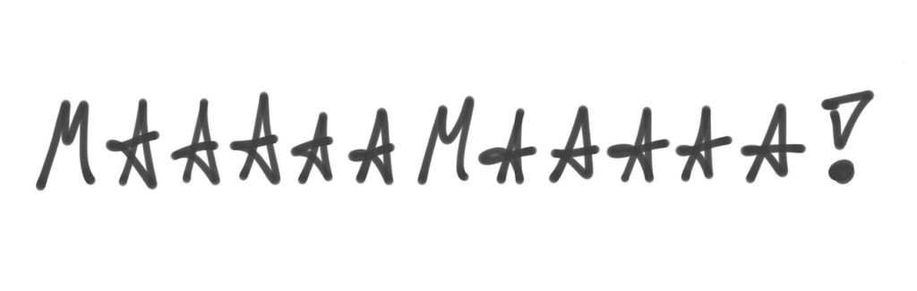 Skizze: Mama