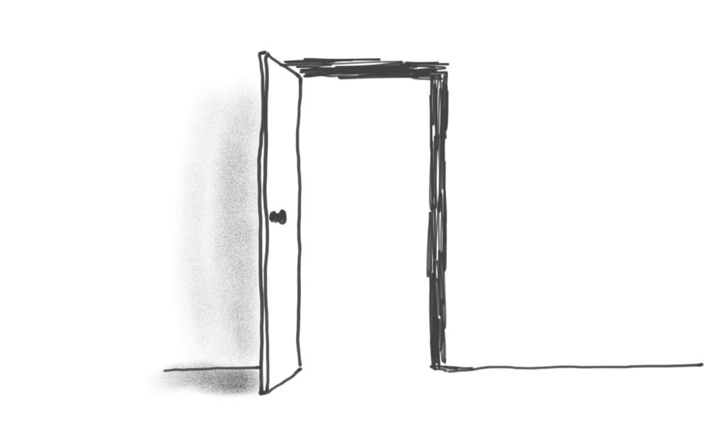 Skizze: Tür