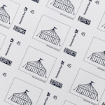 Zirkusliebe Briefmarken