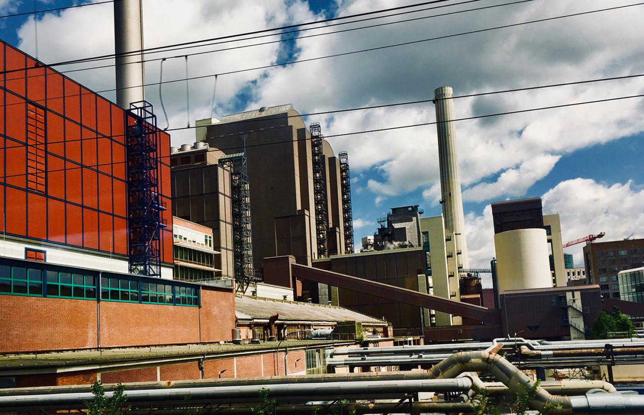 Fabrik Frankfurt Bahn