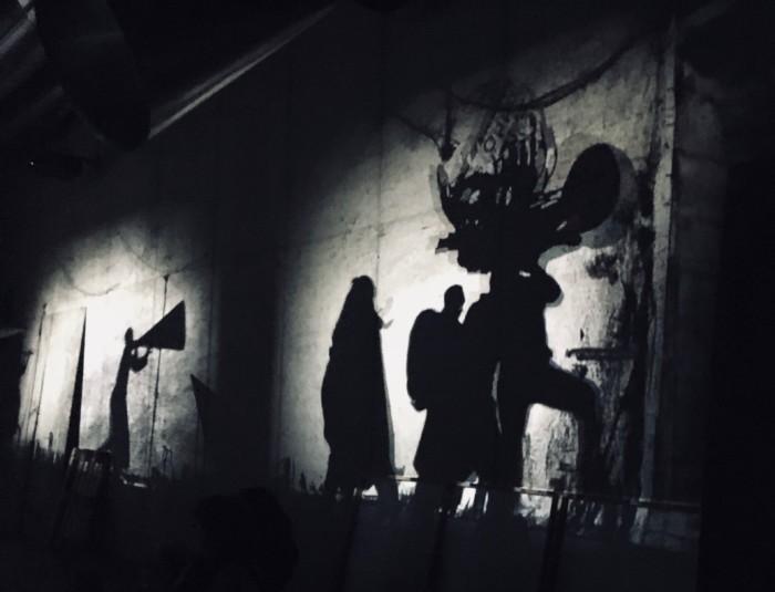 Gestalten in der Nacht