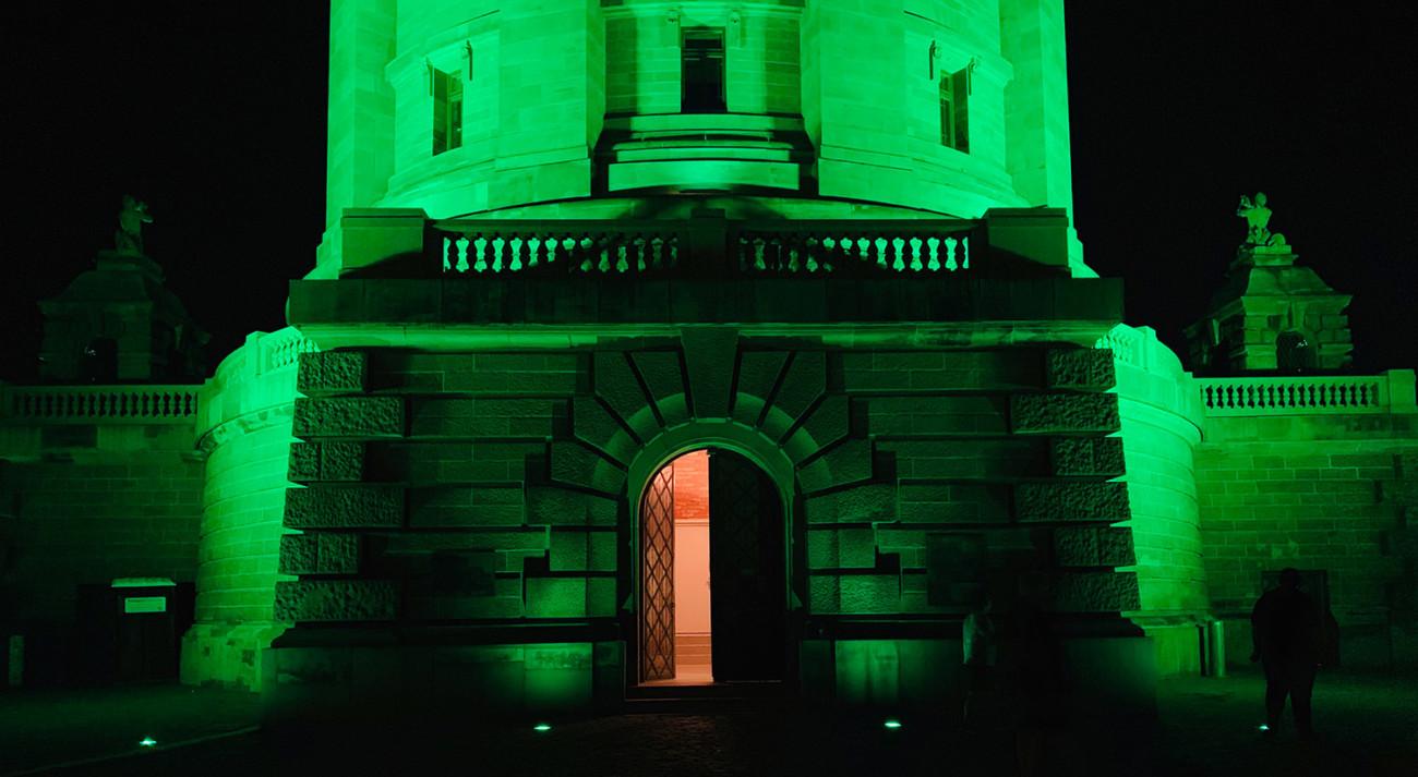 Green Wasserturm Mannheim