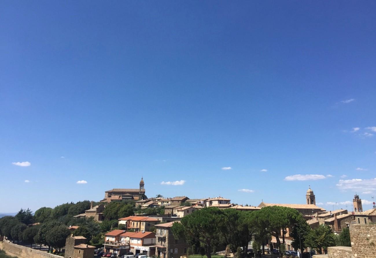 Himmel über der Stadt @ Toskana