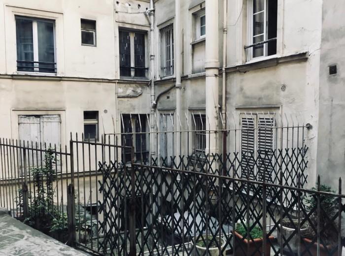 Hinterhof Paris