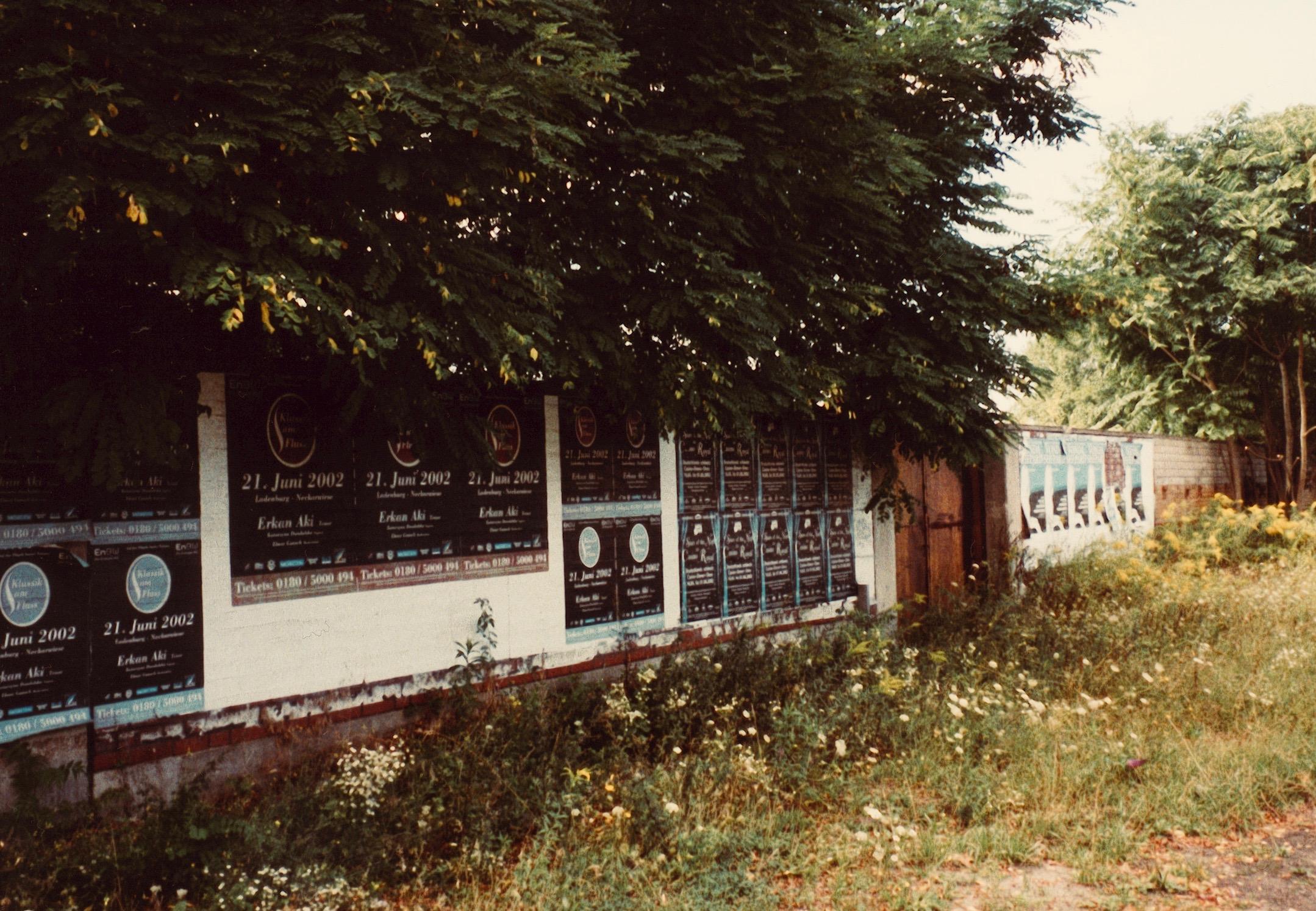 Irgendeine Mauer in Ludwigshafen