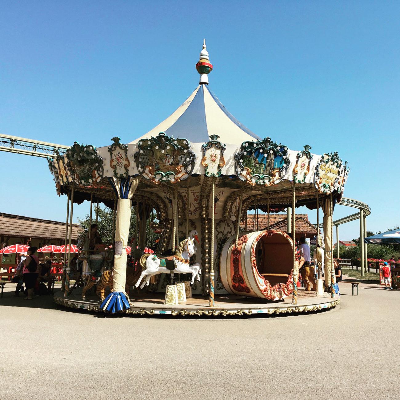 Karusell im Cigaland