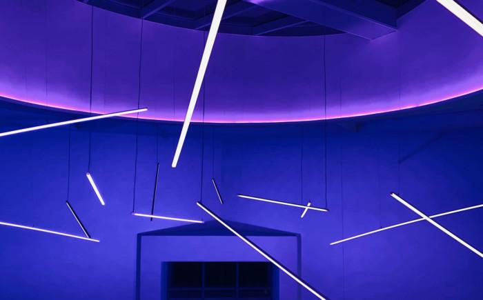 Lichtinstallation Cineplex Mannheim