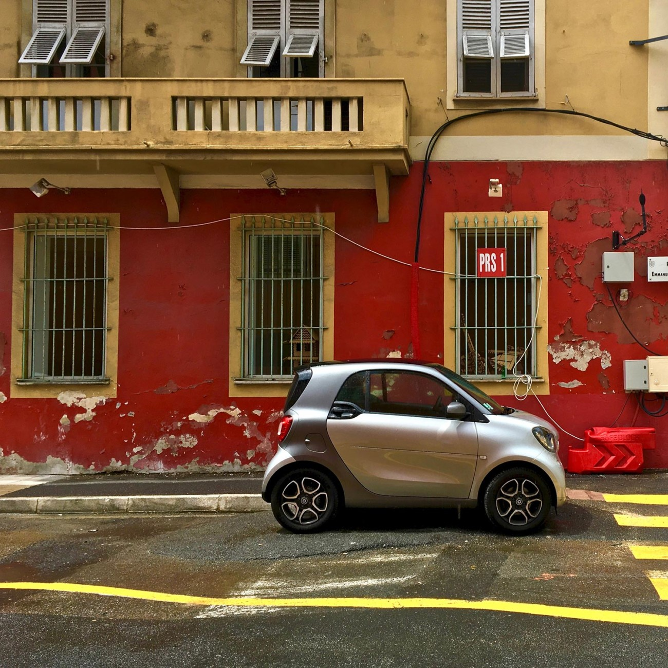 Smart in Nizza.