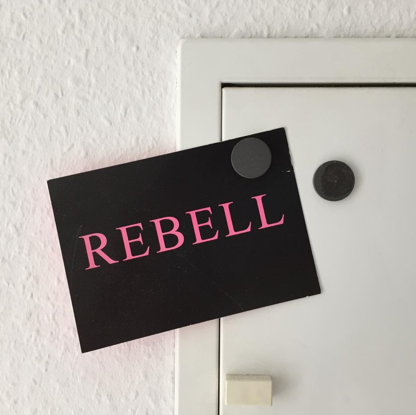 Rebell Postkarte
