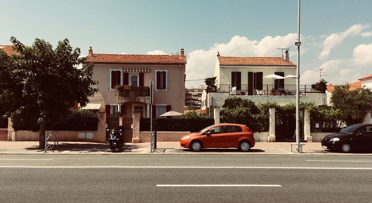 Die Promenade in Cognes Sur Mer