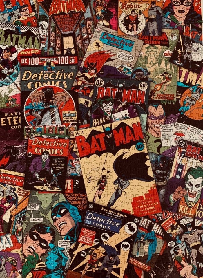 Puzzle: Batman Cover Collage