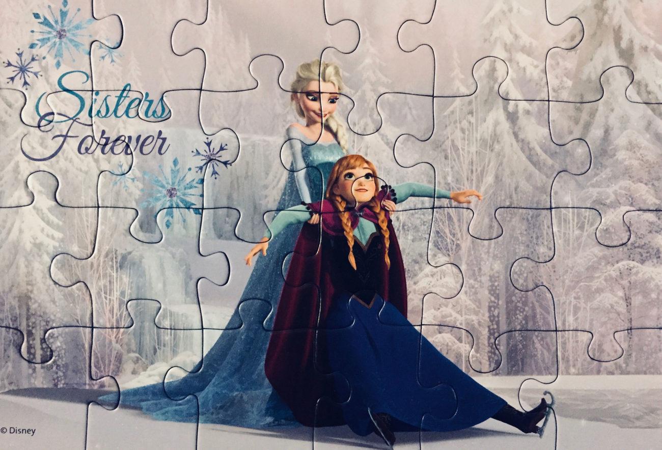 Eiskönigin Puzzle