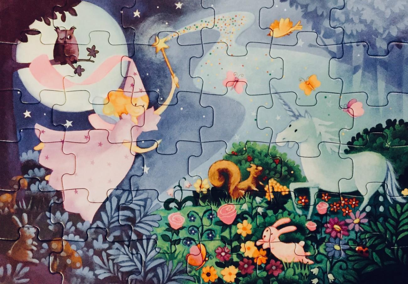 Puzzle mit guter Fee